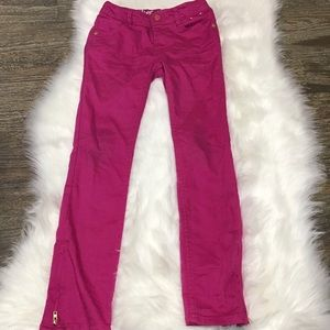 Gymboree super skinny pink jeggings.